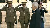 İtalya Mussolini diktatörlüğünden kurtuluşunun 70. yıl dönümünü kutluyor