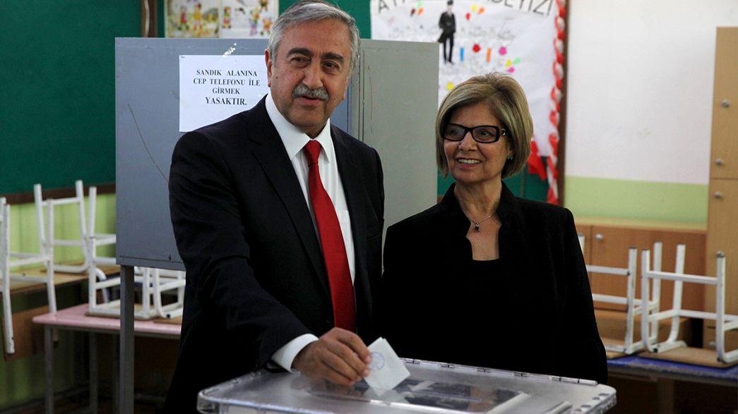 Menschen im Norden Zyperns wählen neue Führung