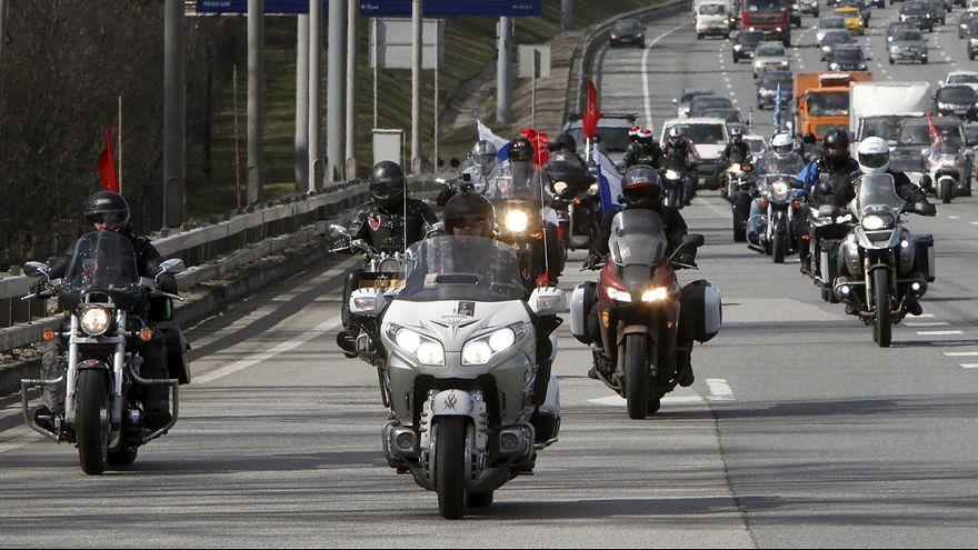 """Alemanha proíbe entrada de """"motards"""" russos"""
