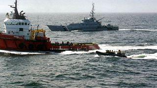 Deux tonnes de cocaïne à bord d'un remorqueur arraisonné en mer du Nord