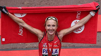 Paula Radcliffe bids farewell in emotional London Marathon