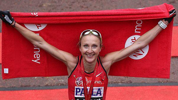Paula Radcliffe bids farewell in emotional London Marathon