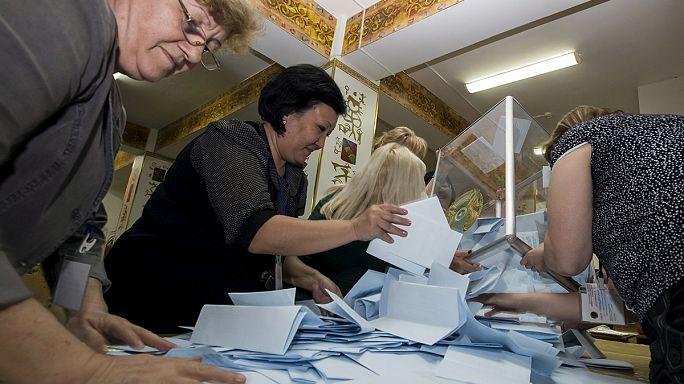 Kazakistan'da seçimin galibi ezici oy oranıyla tekrar Nazarbayev