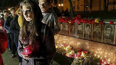 Ucrânia lembra vítimas de Chernobil