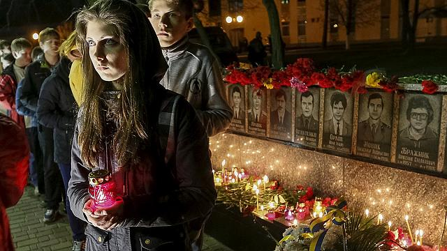 Ukraine marks anniversary of 1986 Chernobyl disaster