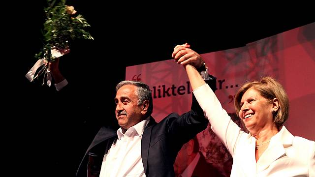 Mustafa Akinci storms to victory as leader of Turkish Cypriots