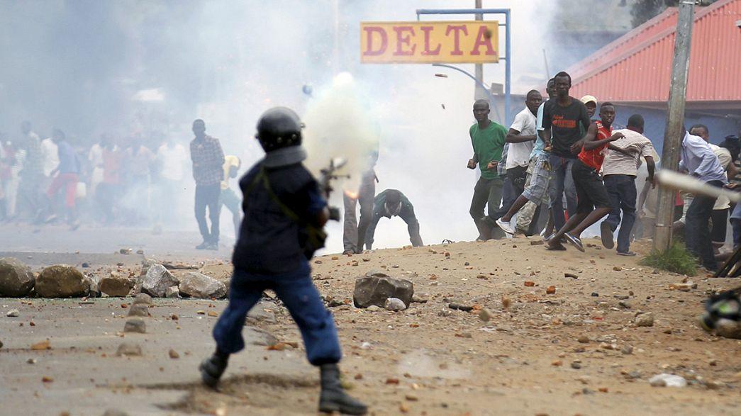 Novos confrontos no Burundi