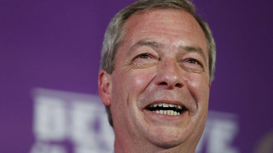 Nigel Farage, o pesadelo da coligação cessante