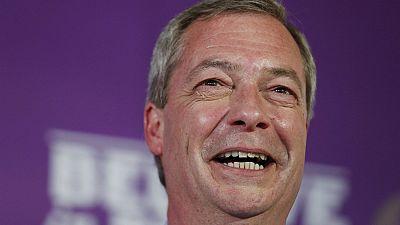 Ukip : l'europhobe Nigel Farage espère un nouveau souffle