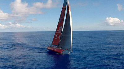 Volvo Ocean Race: Dongfeng knapp vorn