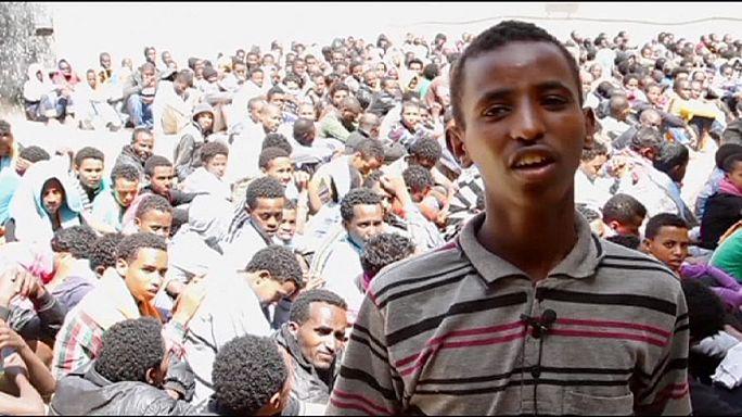 Kétségbeesett segélykiáltások a líbiai menekültközpontokból