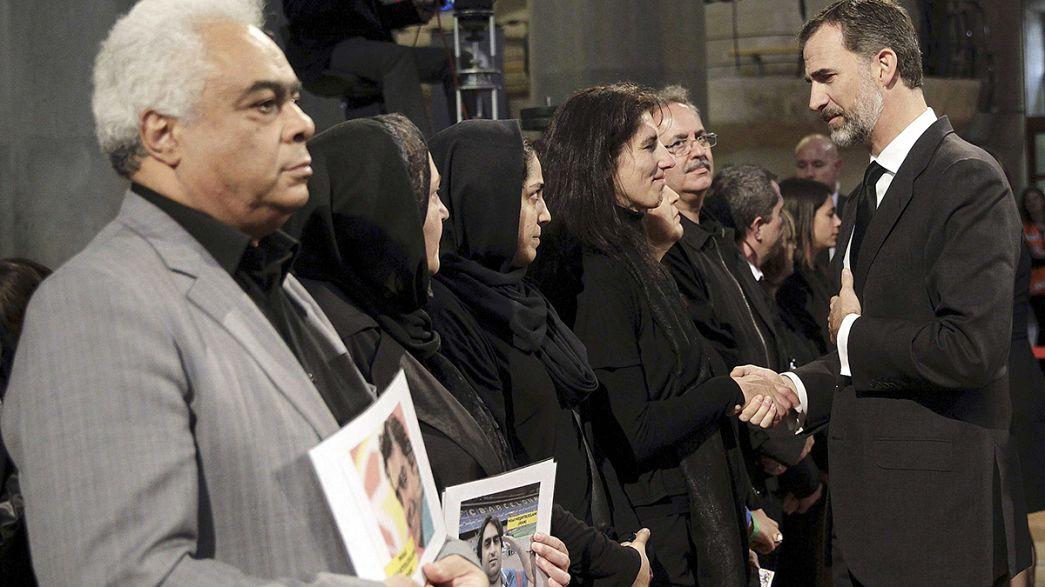 España recuerda a las víctimas del avión de Germanwings con una misa