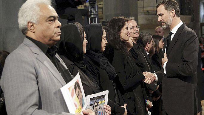 В Барселоне попрощались с жертвами катастрофы Germanwings