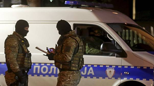 Bosnia police shoot dead a gunman in suspected terror attack