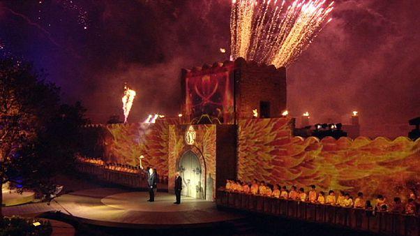 European Games Flame starts journey in Baku