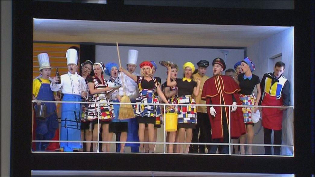 Bolşoy ''Figaro'nun düğünü'' ile perde açıyor