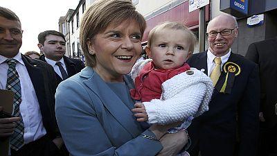 SNP leader Nicola Sturgeon: The Darling of the Debates