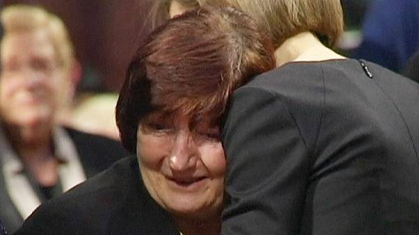 مراسم یادبود قربانیان جرمن وینگز در اسپانیا