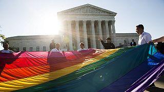El Tribunal Supremo de EE UU estudia la legalización del matrimonio homosexual en todo el país