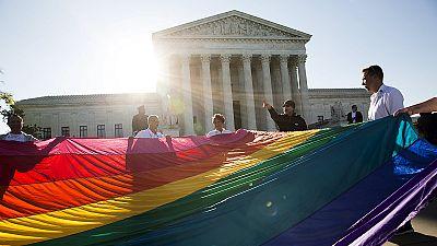Mariage gay : audience exceptionnelle de la Cour suprême des Etats-Unis