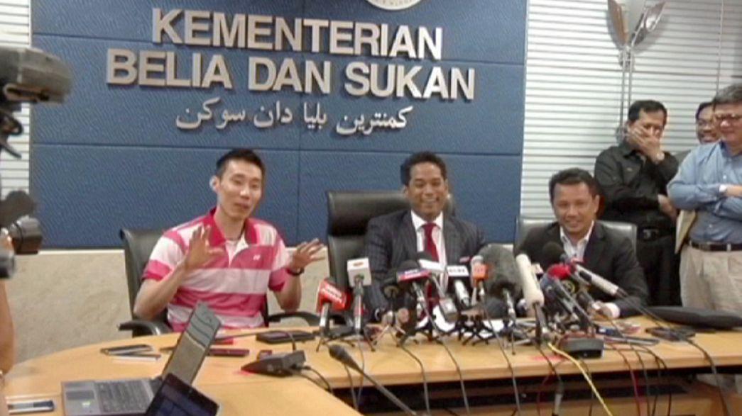Badminton : suspendu rétroactivement pour dopage, Lee Chong-Wei peut reprendre la compétition