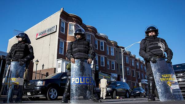 Troops deployed as Baltimore declares week-long curfew after riots