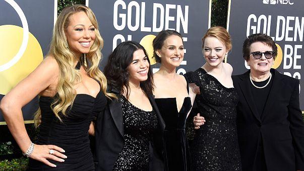Image: Mariah Carey, America Ferrera, Natalie Portman, Emma Stone and Billi