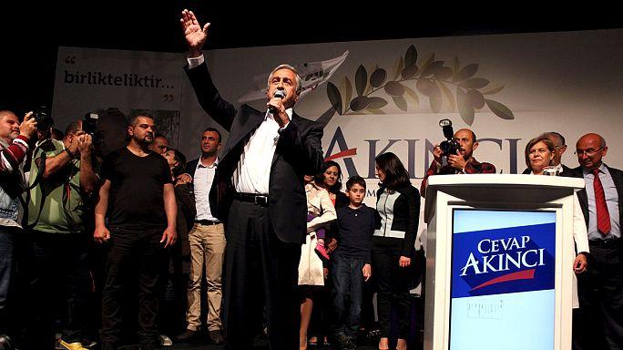 A közeledést várják Cipruson a törtök terület új elnökétől