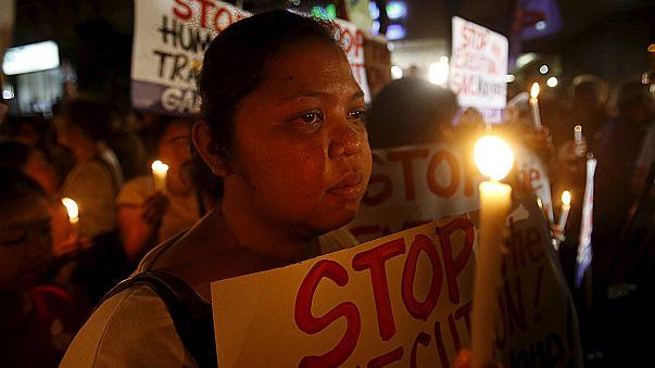 Endonezya affetmedi: 8 mahkum idam edildi