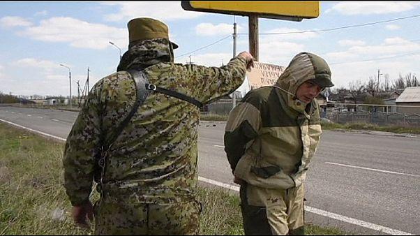 مجازات متهمان پیش از تشکیل دادگاه در مناطق تحت کنترل جدایی طلبان در شرق اوکراین