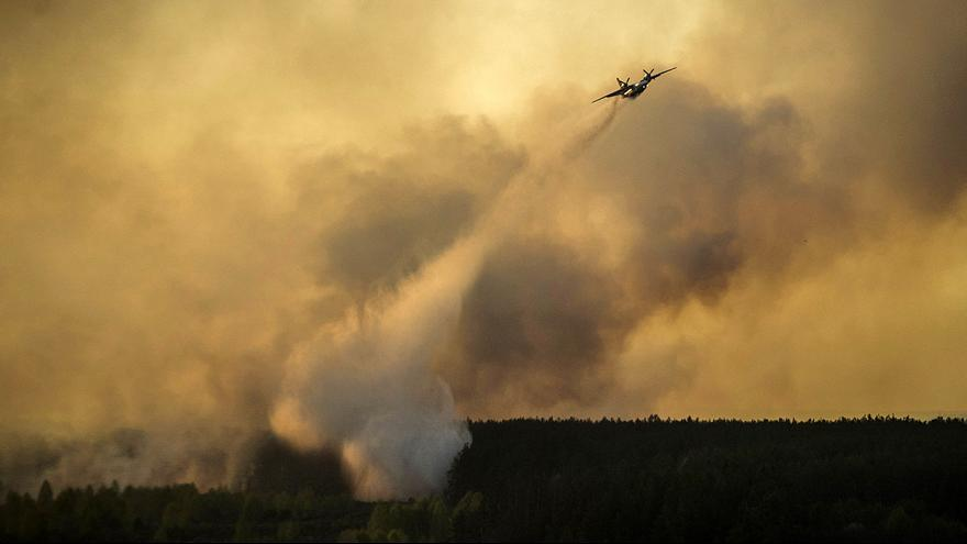 Waldbrand bei Tschernobyl: ukrainische Regierung gibt Entwarnung
