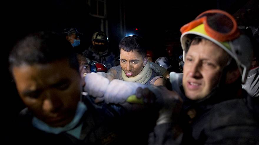 Watch: Man is pulled from Nepal earthquake rubble after 80-hour ordeal