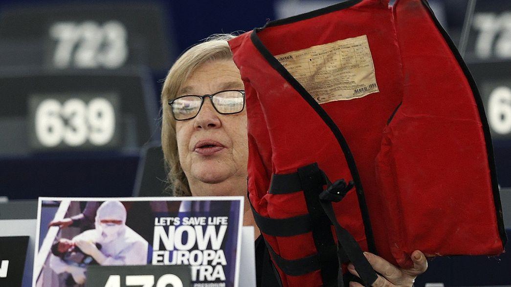 Az EP elosztaná a menekülteket Európában