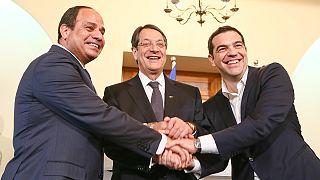 Κοινή διακήρυξη για την ενέργεια από Ελλάδα, Κύπρο και Αίγυπτο