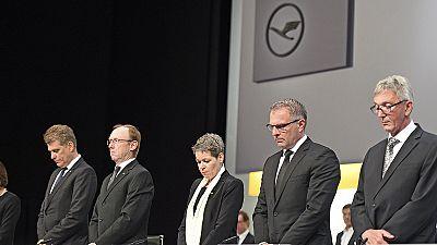 Lufthansa honours victims of Germanwings crash at AGM
