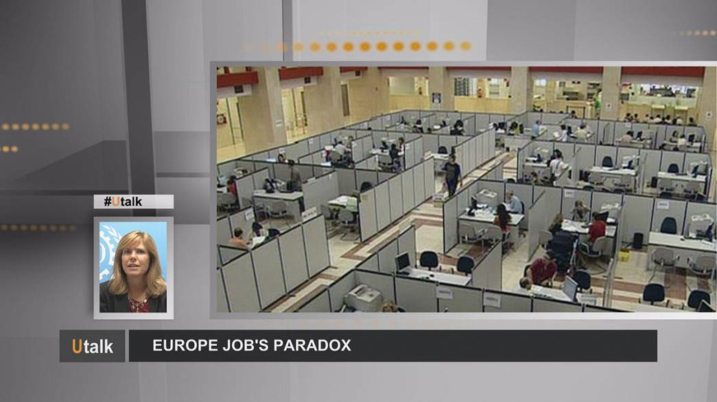 Labour shortage amid high unemployment - Europe's jobs paradox
