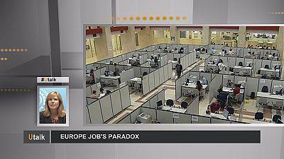 O paradoxo do emprego na Europa
