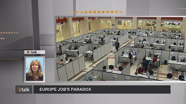 Avrupa'da hem işsizlik hem nitelikli eleman eksikliği yaşanıyor