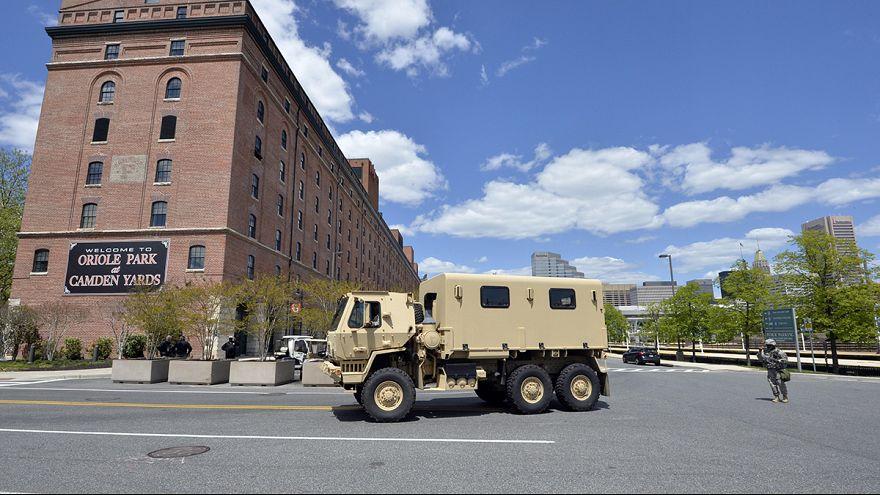 ABD'nin Baltimore kentinde gerginlik sürüyor