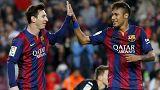 El Barça aplasta al Getafe y sigue por delante del Real Madrid
