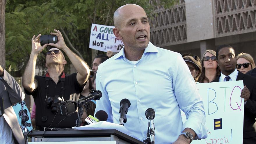 Democrat David Garcia eyes governor's seat in politically shifting Arizona