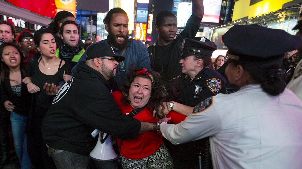 Baltimore is put under curfew again as protests spread