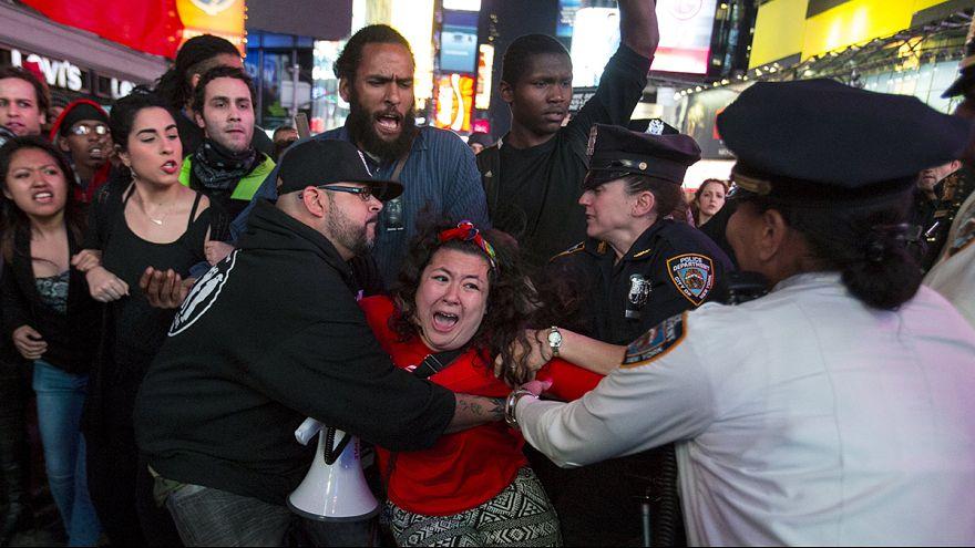 Proteste pacifiche a Baltimora, New York e altre città Usa contro violenza delle polizia