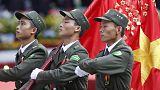 Feiern in Vietnam zum Sieg der Kommunisten 1975