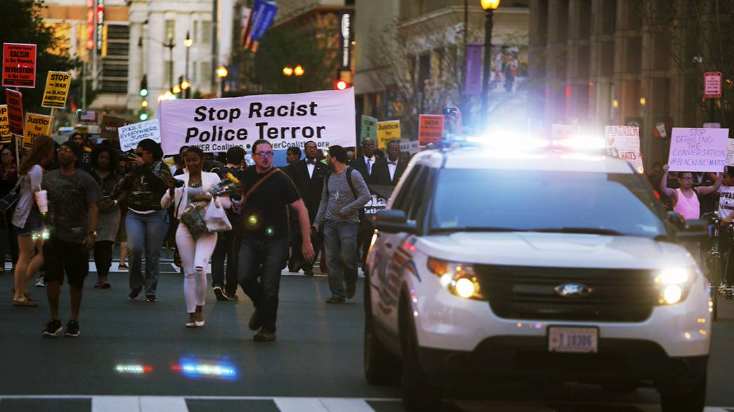 Calm in Baltimore, but violence erupts elsewhere in the US