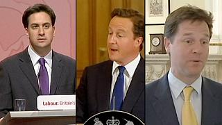 İngiltere'de seçim öncesi liderlerden son mesajlar