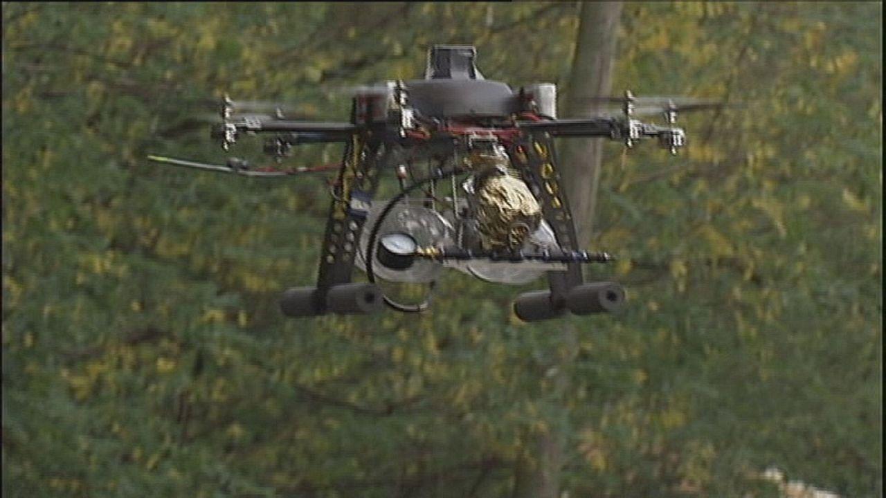 Drones diseñados para el sector de la vigilancia