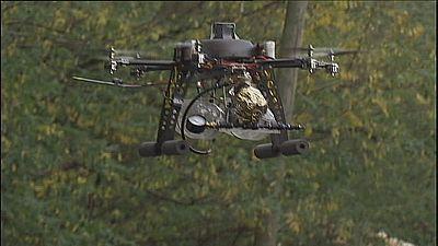 Drones invadem SkyTech 2015