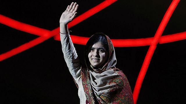 السجن المؤبد لعشرة رجال حاولوا اغتيال ملالا يوسف زاي في عام 2012