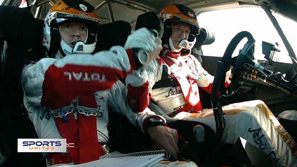 Meeke celebrates maiden WRC victory